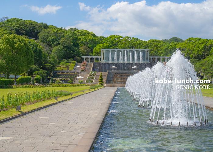 須磨離宮公園 噴水