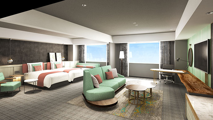 ポートピアホテル プレミアフロア