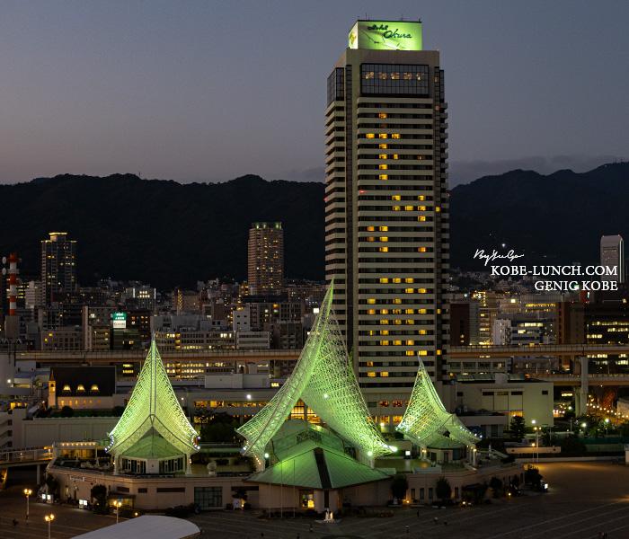 ホテルオークラ神戸の最上階
