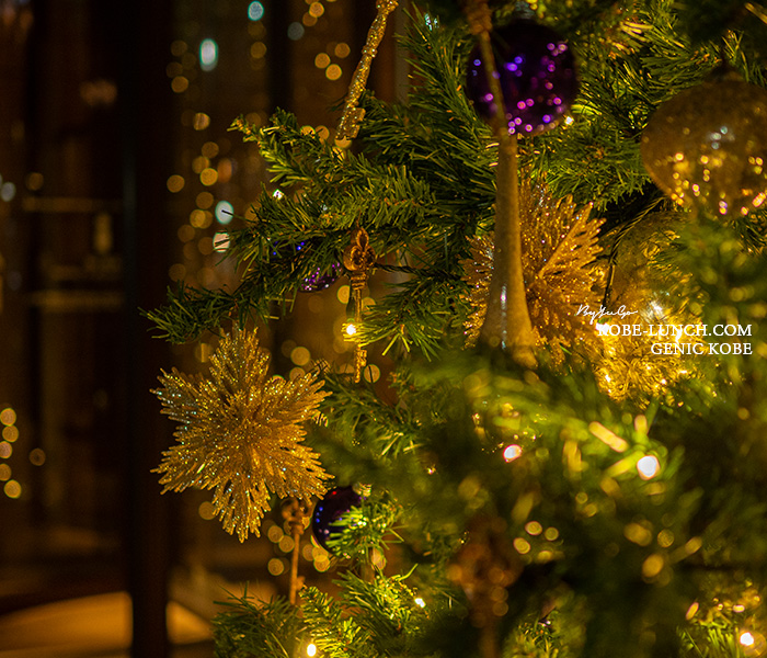 神戸オリエンタルホテル クリスマスツリー2020