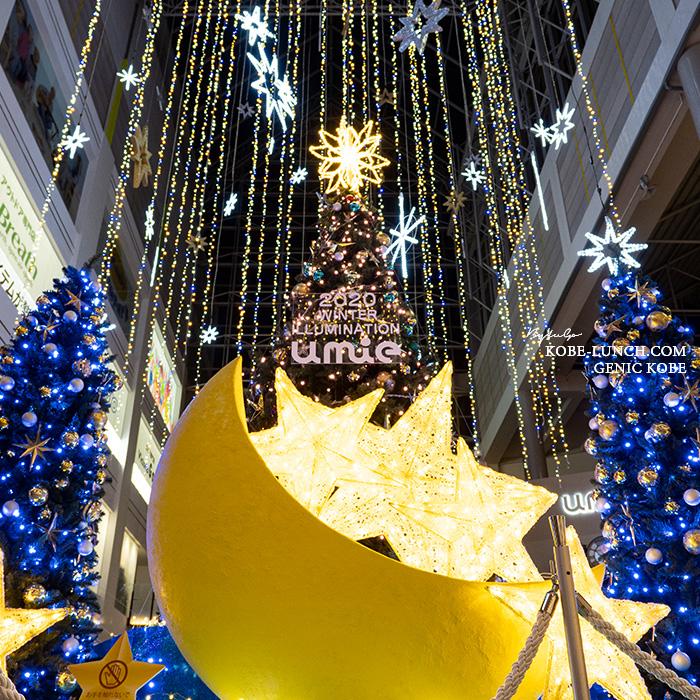 umie クリスマスツリー2020