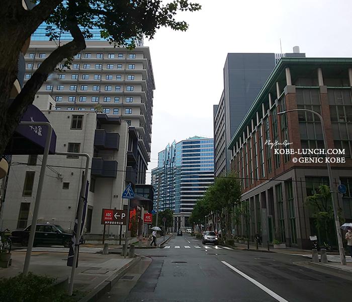 ハローワーク神戸前の信号がなくなってる
